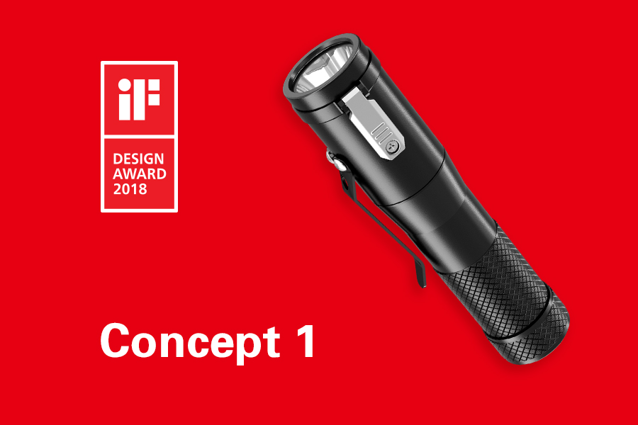 Concept 1 wins the iF Design Award 2018!