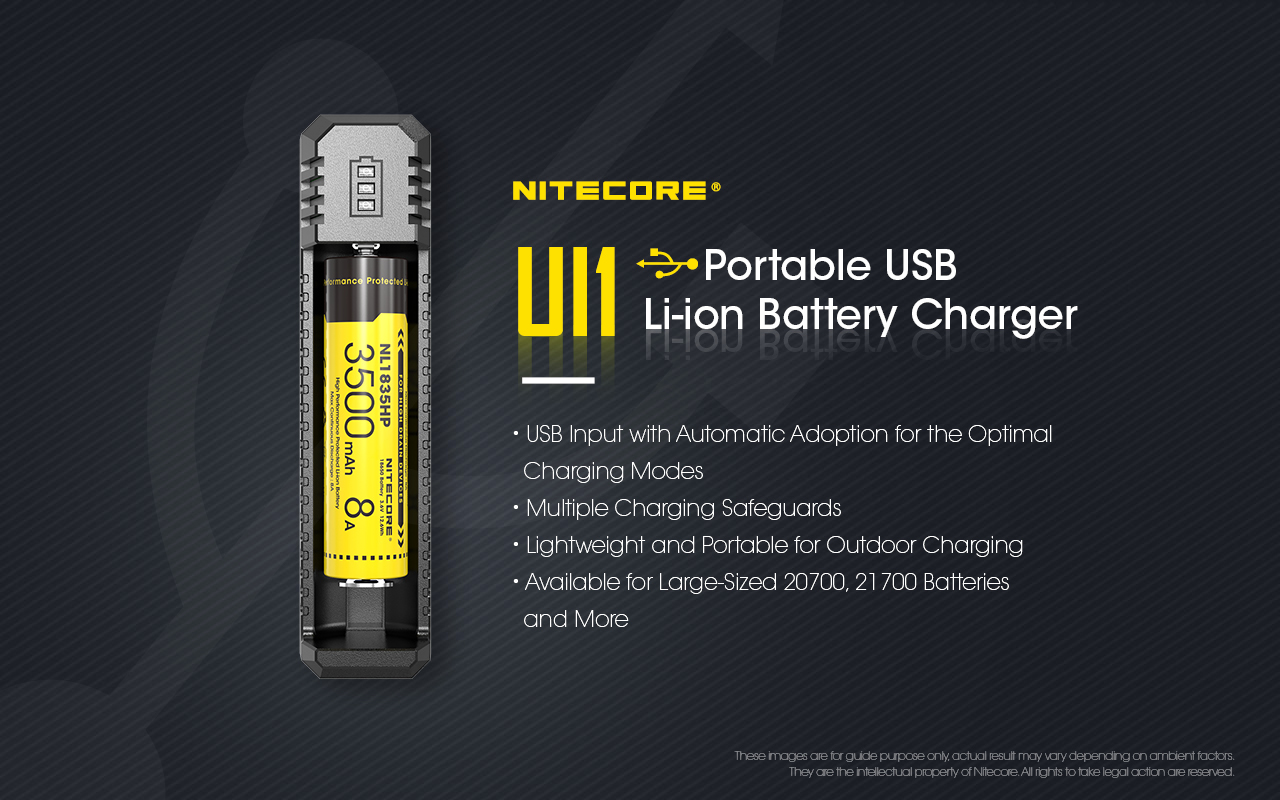Nitecore Australia UI1 charger
