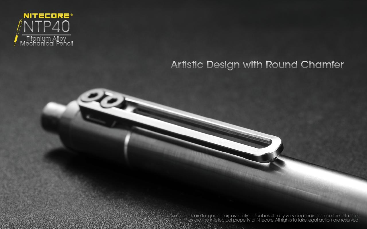 NTP40 Titanium Bolt Action Pen