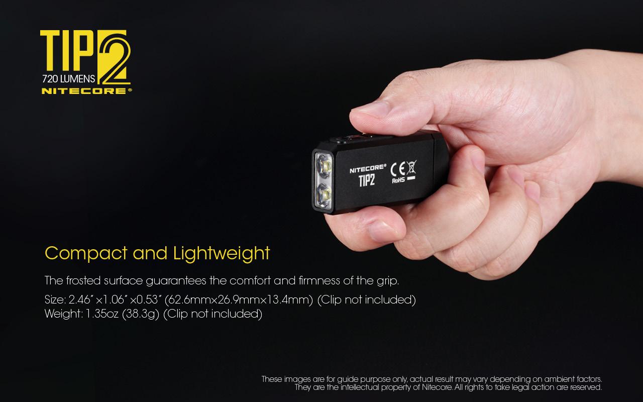 TIP2 keychain light